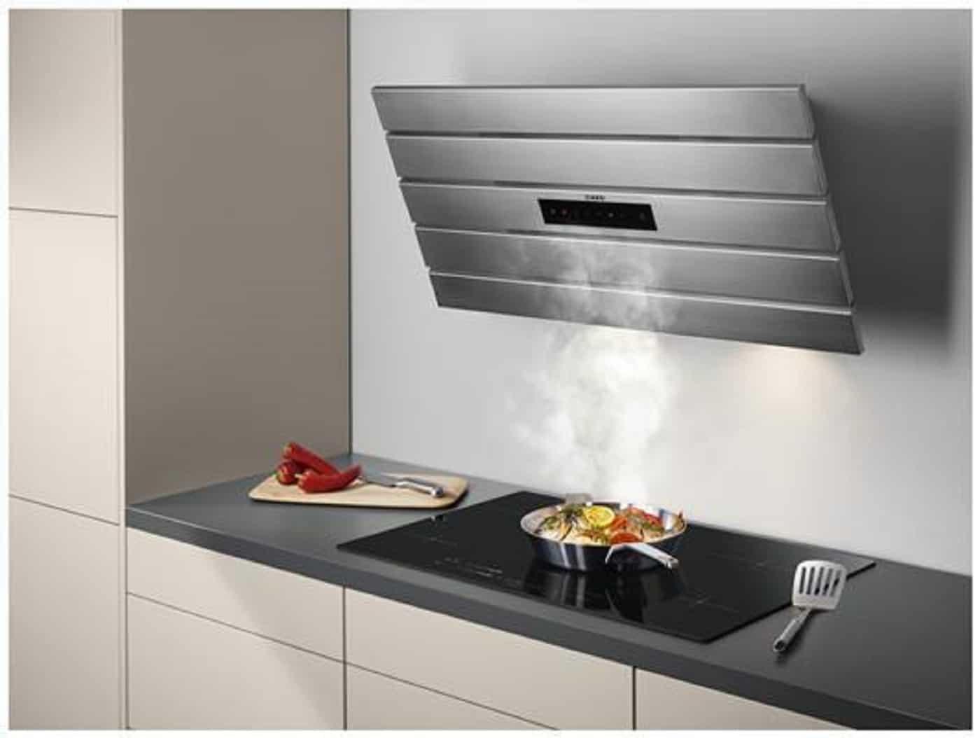 شفاط مطبخ مسطح بدون مدخنة