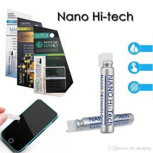 الاليه المستخدمة لـ حماية شاشة الجوال بتقنية النانو