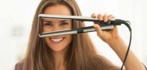 كيف تعمل مكواة الشعر