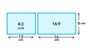 نسبة عرض الشاشة (TV Aspect Ratio)