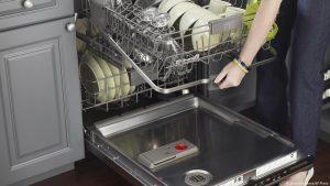 الأجهزة الموجودة في غسالة الأطباق