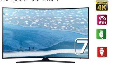 تلفزيون سامسونج 65 بوصه 4k