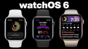 ميزات جديدة في نظام WatchOS 6