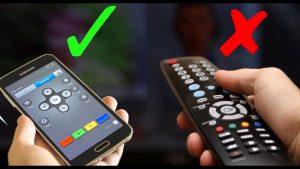 كيفية التحكم بالتلفزيون عن طريق الجوال