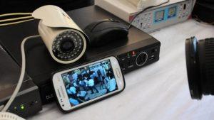 كاميرا المراقبة Logitech Circle 2 Combo Pack