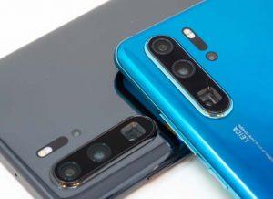 فتح علبة هاتف Huawei P30 Pro