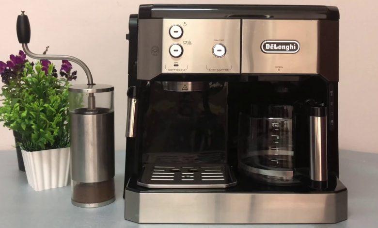 تشغيل ماكينة قهوة ديلونجي